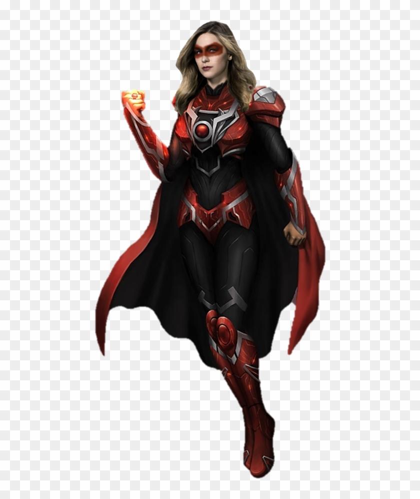Supergirl Red Lantern By Gasa979 - Cw Supergirl Red Lantern #291390