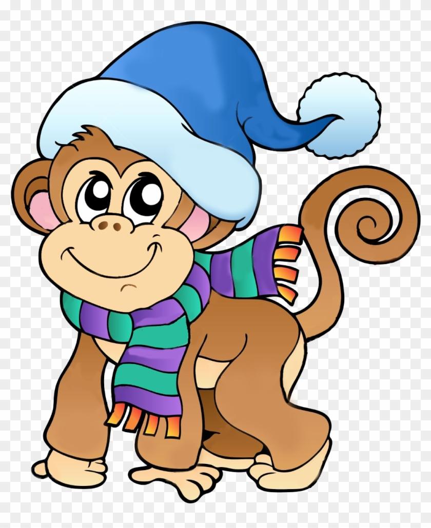 Поиск В Google - Cartoon Monkey #291395