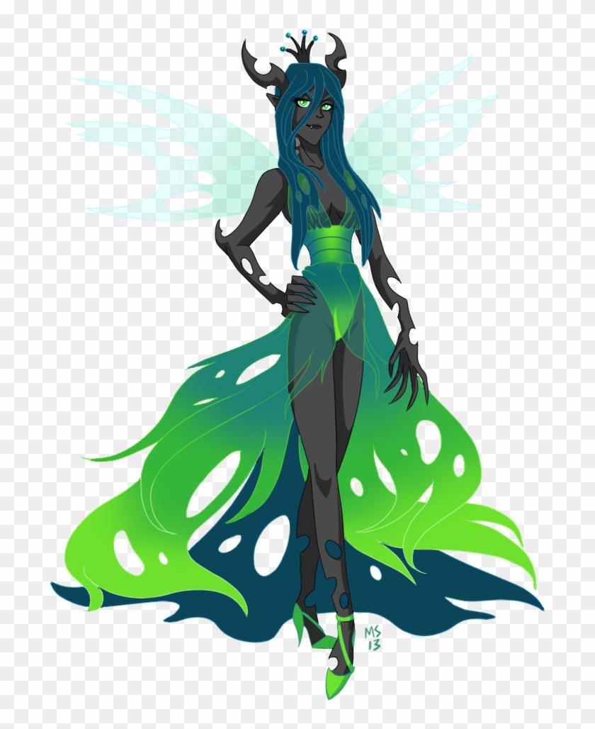 Queen Chrysalis By Artistmeli - My Little Pony Queen Chrysalis Human #291413