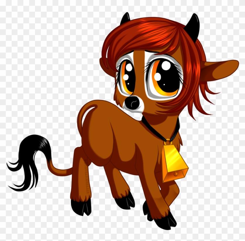 Mlp Cow Oc By Kittehkatbar - My Little Pony Cow #291433