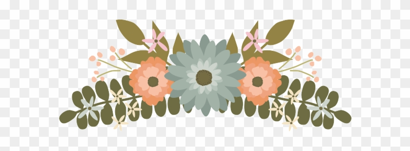 Floral Clipart Flower Wedding Graphics Clip Image - Wedding Flower Clipart Png #291436
