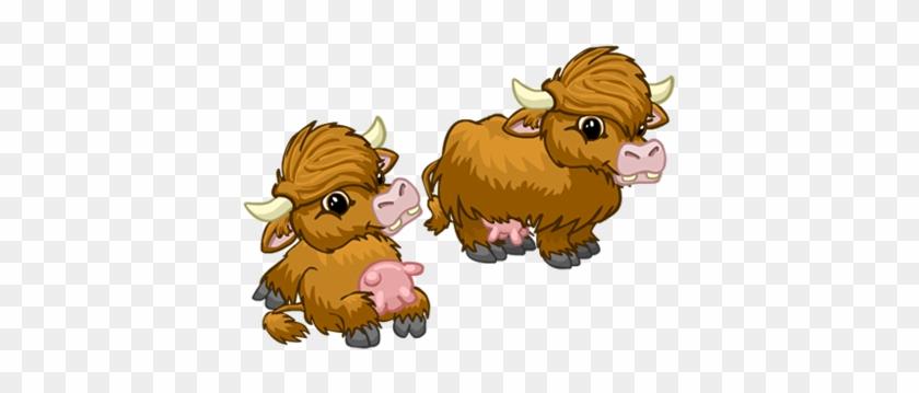 Wild Milking Cow For The Hugo World App - Cartoon #291438
