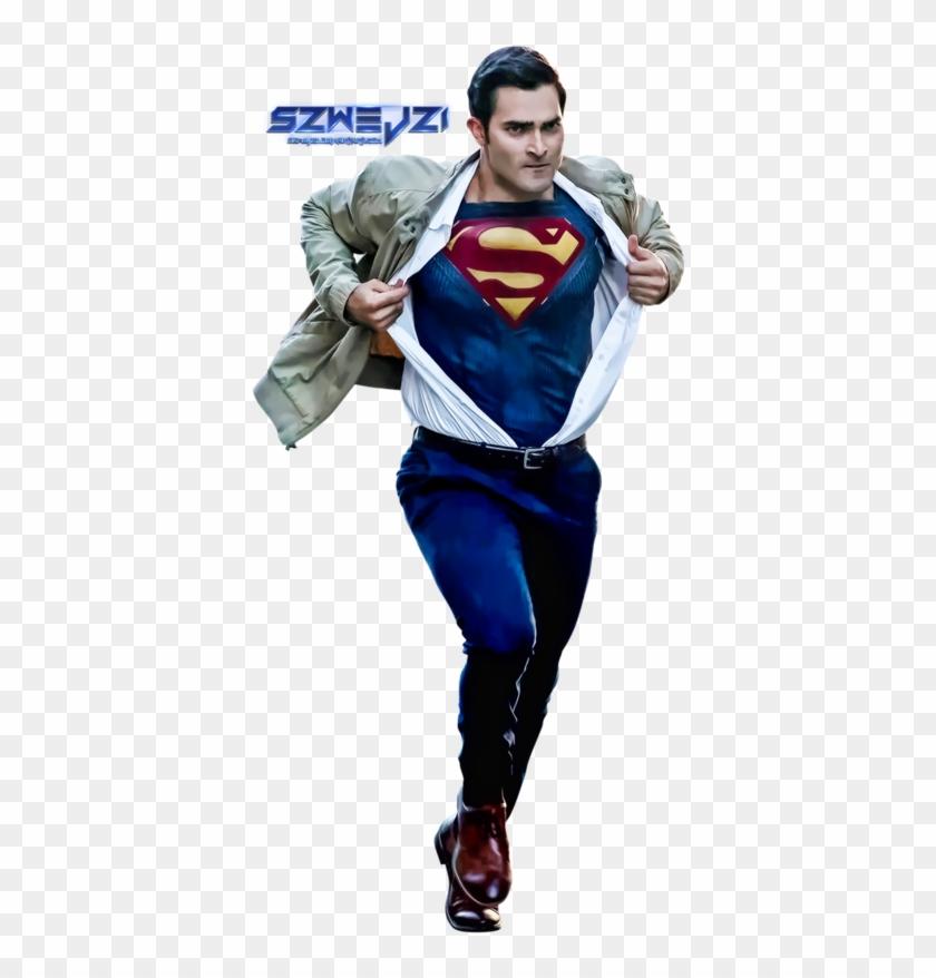 Superman-clark Kent By Szwejzi - Supergirl Superman Png #291439
