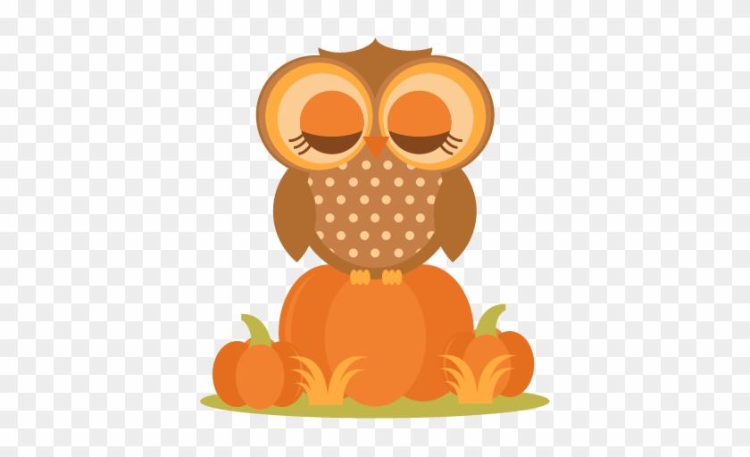 Pumpkin Owl Clipart #291441