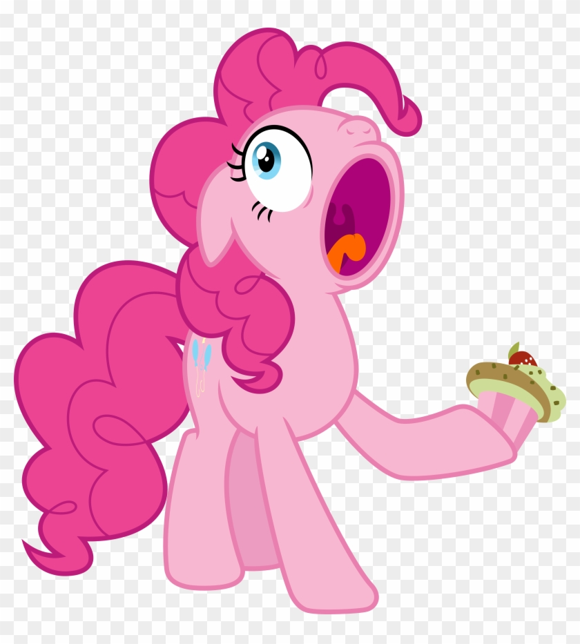Other Popular Collections - Pinkie Pie With Cupcakes #291458