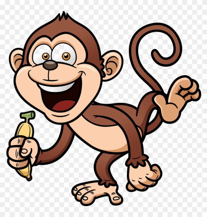 Cartoon Monkey Clip Art - Year Of The Monkey 2017 #291523