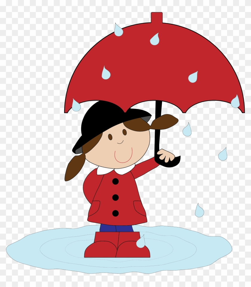 Cartoon Girl Pic 15, Buy Clip Art - Cartoon Girl With Umbrella #291522