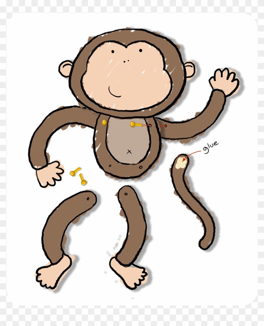 Monkey Crafts - Cartoon #291541