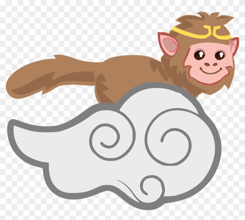 Sun Wukong The Monkey King Clip Art - Sun Wukong The Monkey King Clip Art #291561