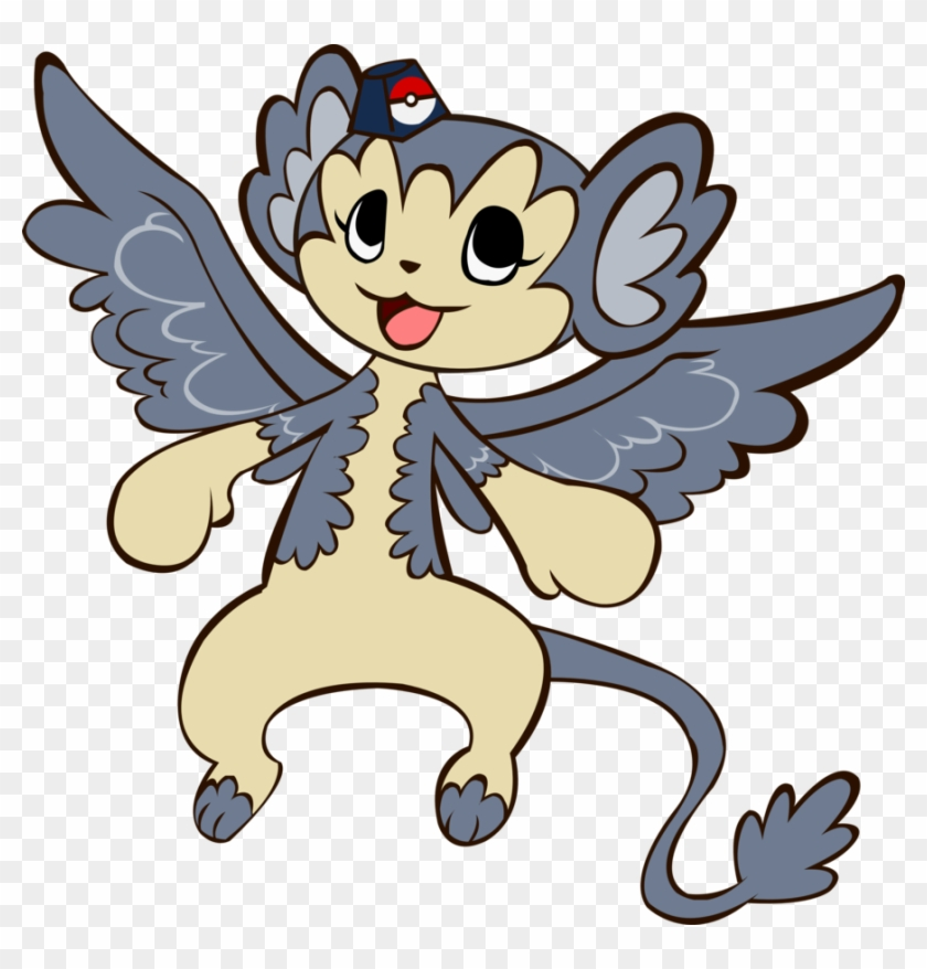 Flying Monkey Pokemon By James-li - Monkey Pokémon #291556