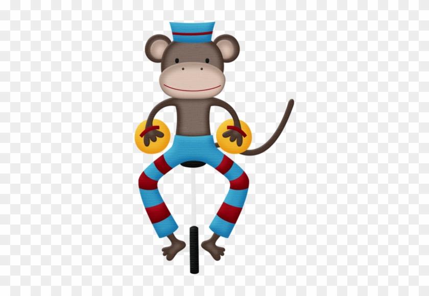 Monkey On Unicycle - Circus #291578