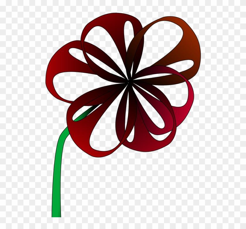 Red Flower Clip 24, Buy Clip Art - Red Flower Clip 24, Buy Clip Art #291584