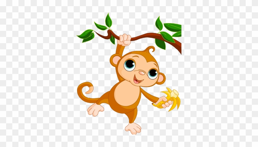 Cute Baby Monkey Clip Art Images - Monkey Clipart No Background #291642