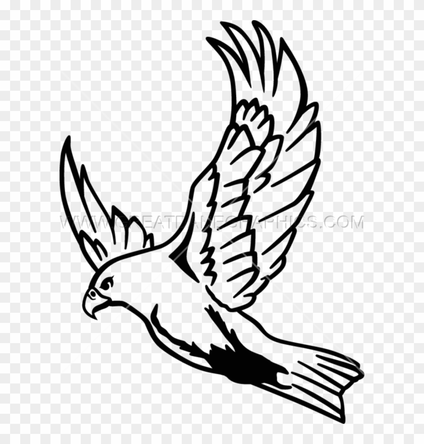 Falcon Flying Clipart - Flying Falcon Clipart #291646