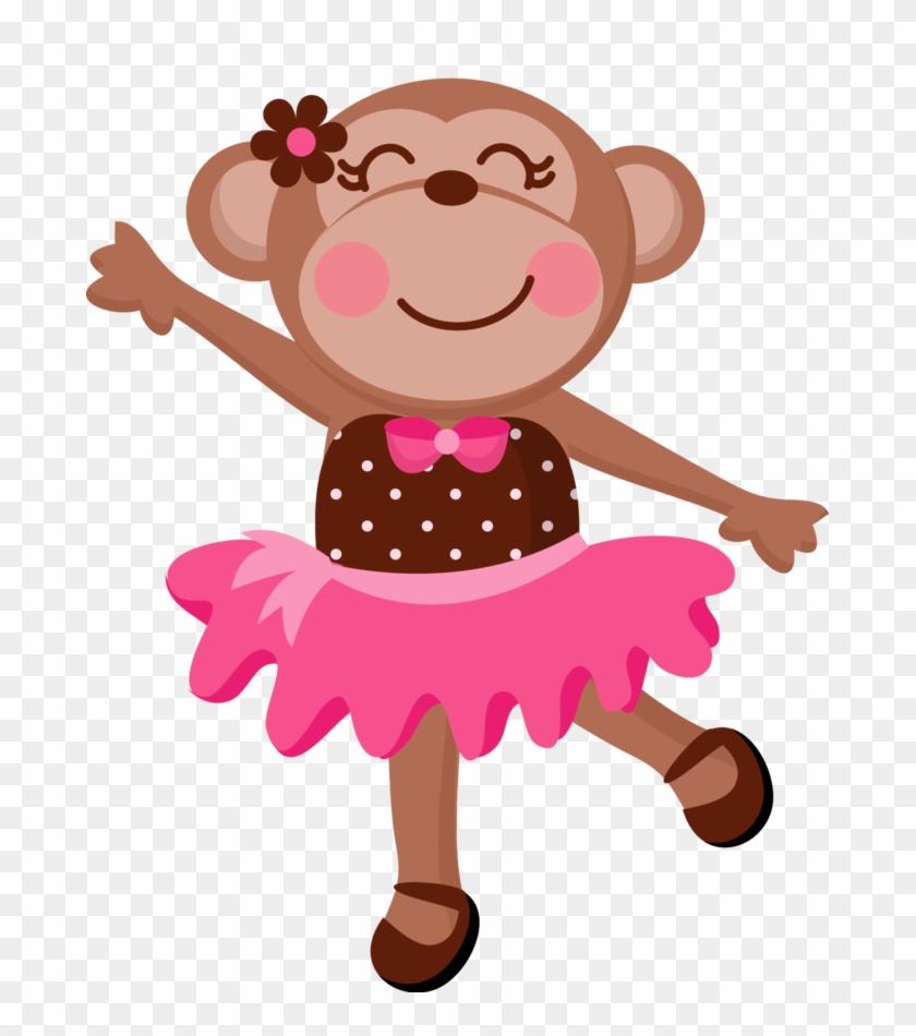 Jwi Girlymonkey 2 - Fondo Para Invitacion De Baby Shower Niña #291654