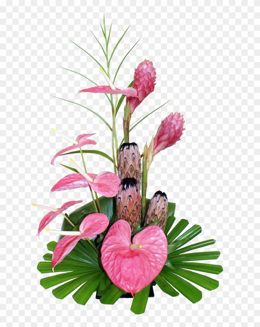 95 Previous Next - Tropical Floral Arrangements Png #291683