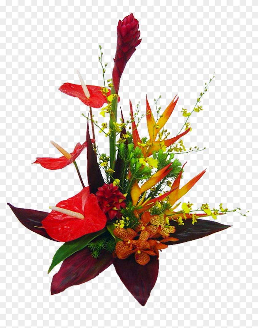 50 Previous Next - Tropical Flower Bouquet Png #291688
