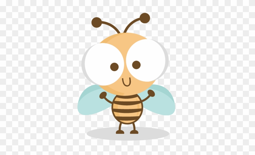 Happy Bee Svg Cutting Files Bee Svg Cuts Bee Svg Cut - Formiguinhas Vetor #291693