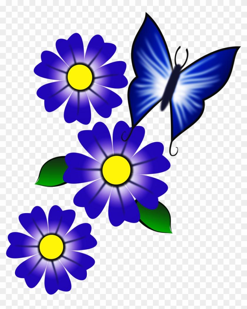 Imagens De Adesivos De Unhas - Desenho De Flores Coloridas #291709