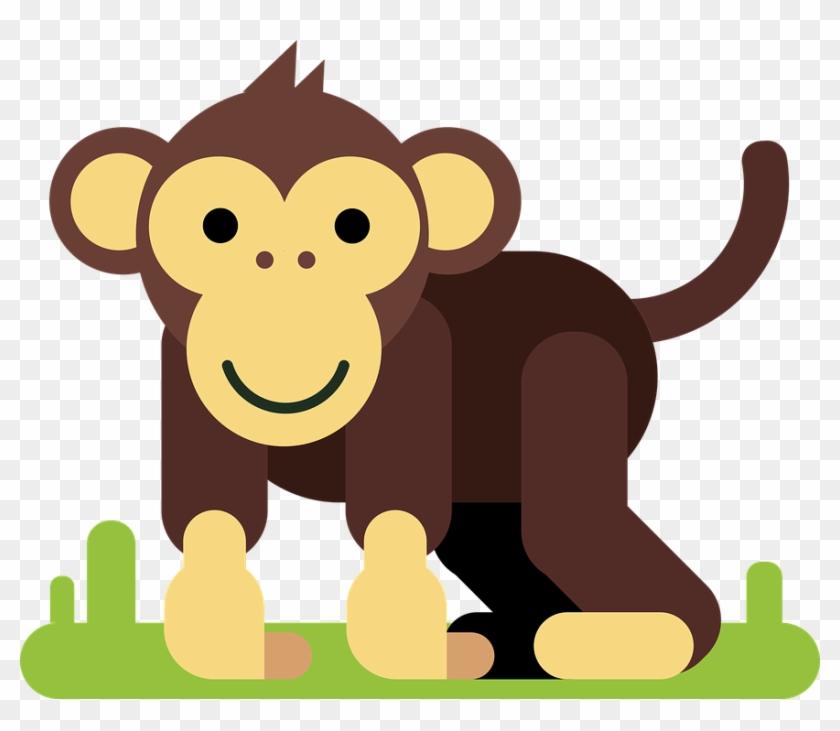 Monkey, Animal, Cartoon Character, Comic, Figure - ลิง การ์ตูน Png #291710
