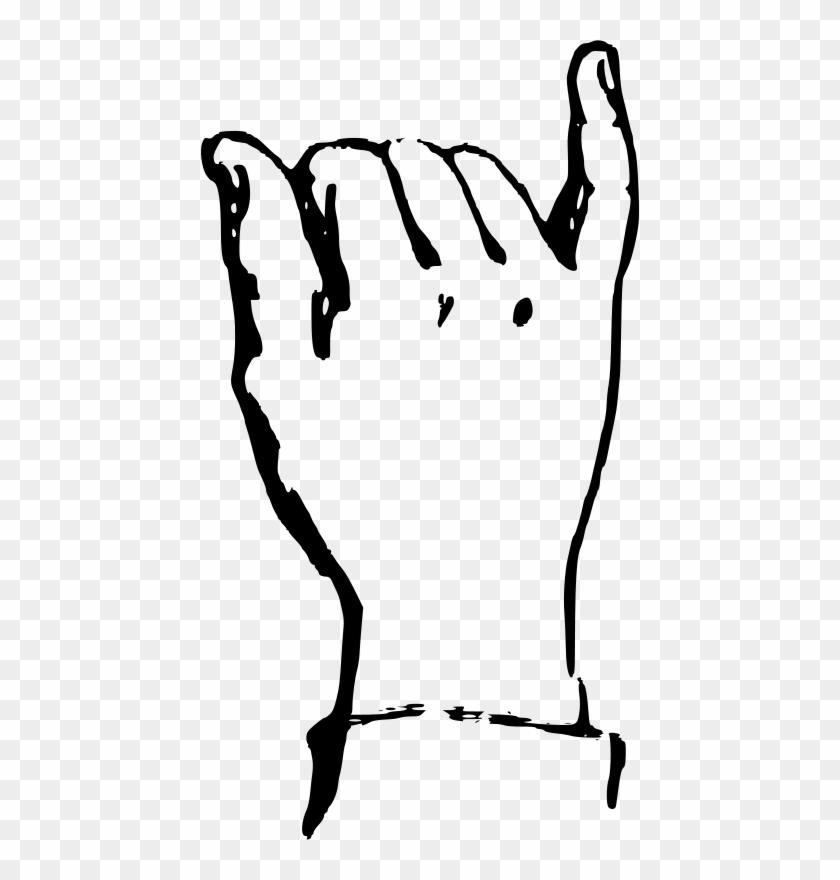 Other Popular Clip Arts - Deaf Alphabet Y #291721