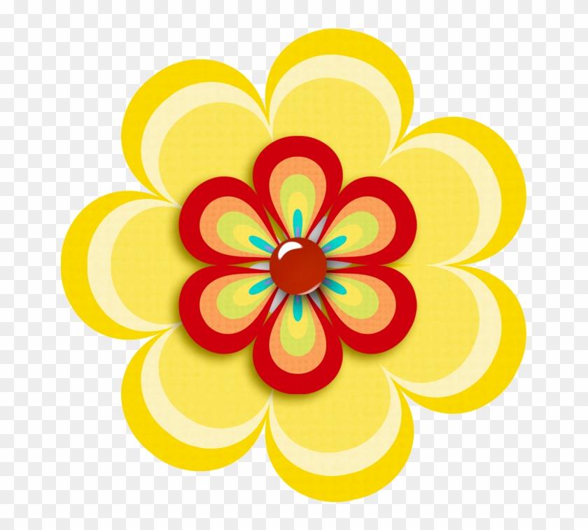 Ab - Clip Art Fiesta Flower #291755