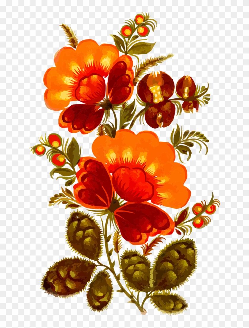 Album - Accademia Del Decoupage 32 X 45 Cm Rice Paper, Flowers/ #291772