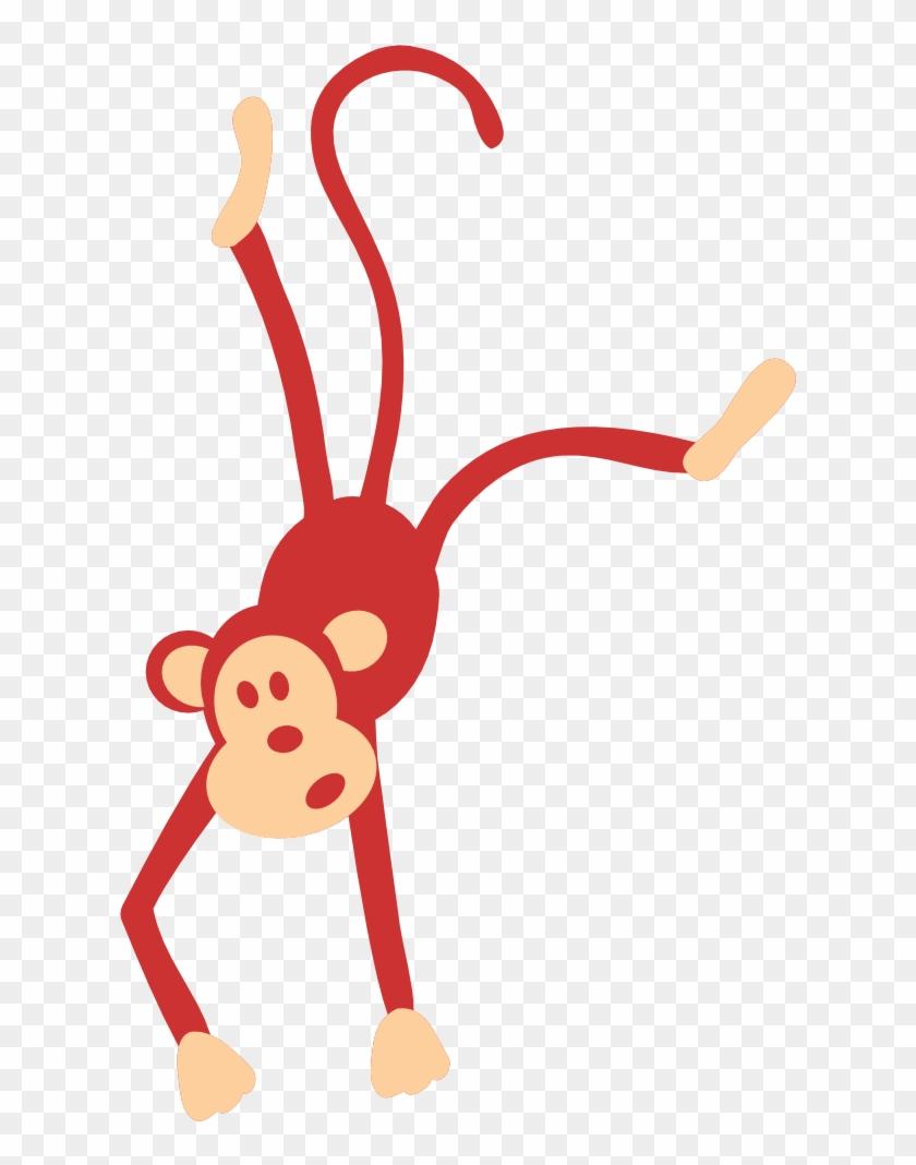 Monkey Brown 3 999px 46 - Clipart Zoo Animals Monkey #291794