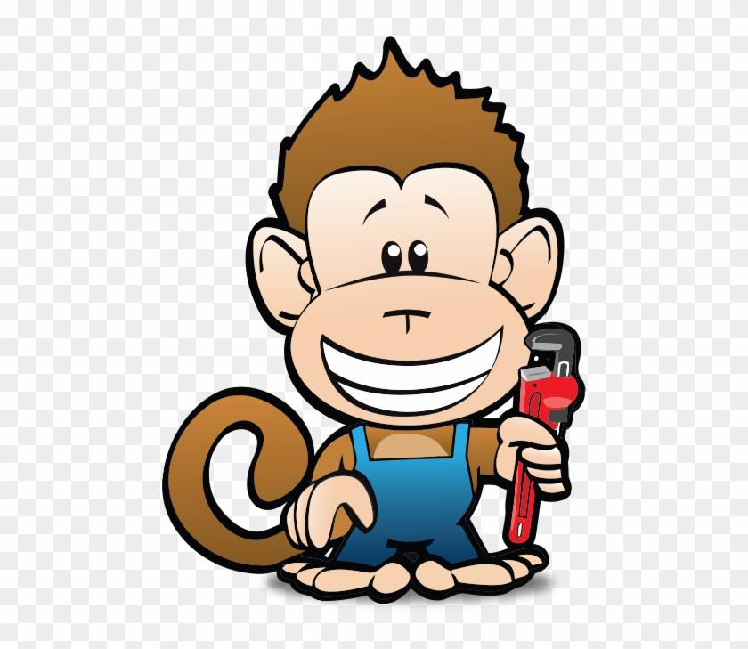 Learn More About Us Monkey Wrench Plumbing Logo - Monkey Plumbing #291798