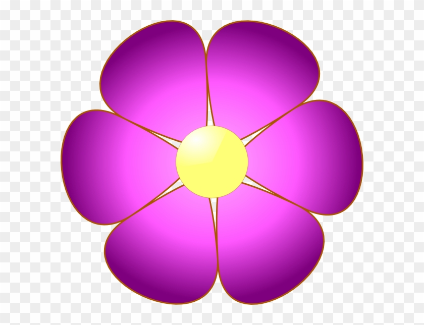 Flowers Clip Art Violet #291811