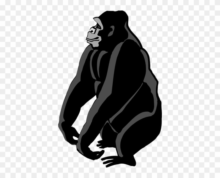 Gorilla Clipart - Gorilla Clipart #291817