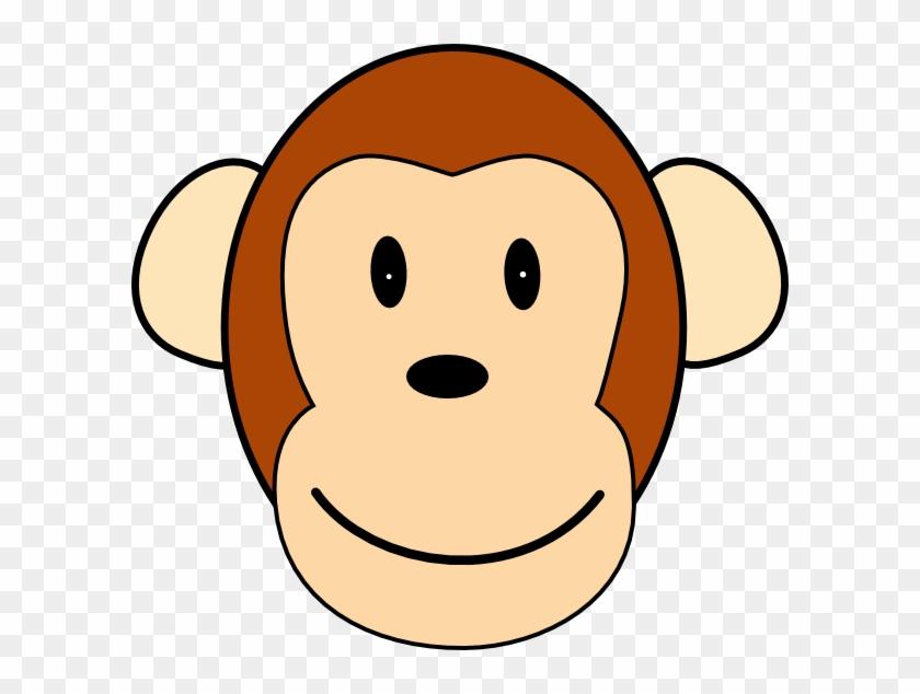 Monkey Clipart Face #291824