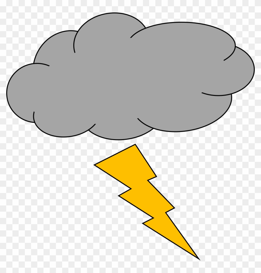Day 16- My Phobias And Things I Am Scared - Thunder And Lightning Clipart #291840