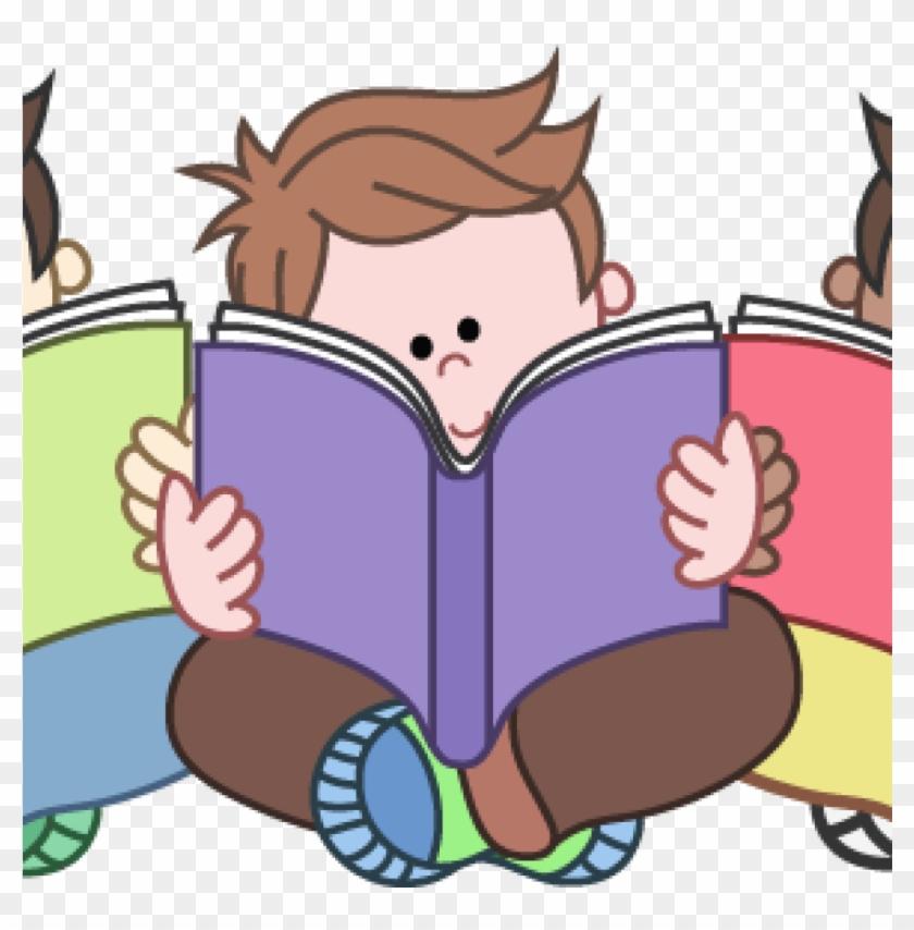 Children Clipart Reading Clip Art For Teachers Free - Reading Groups Clip Art #291844