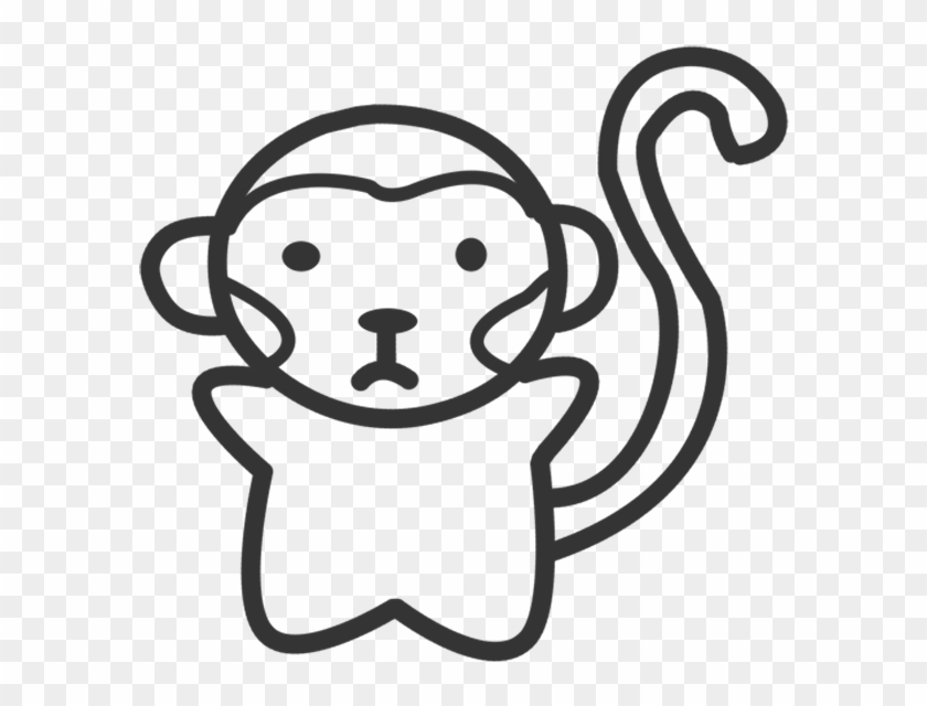 Monkey Business - Line Art #291855