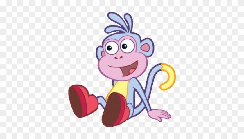 Boots The Monkey Dora Psd 452346 - Dora The Explorer Monkey #291881