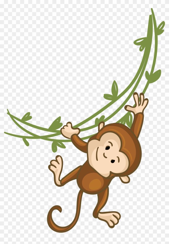 Monkey Clip Art - Cute Cartoon Monkey Png #291885