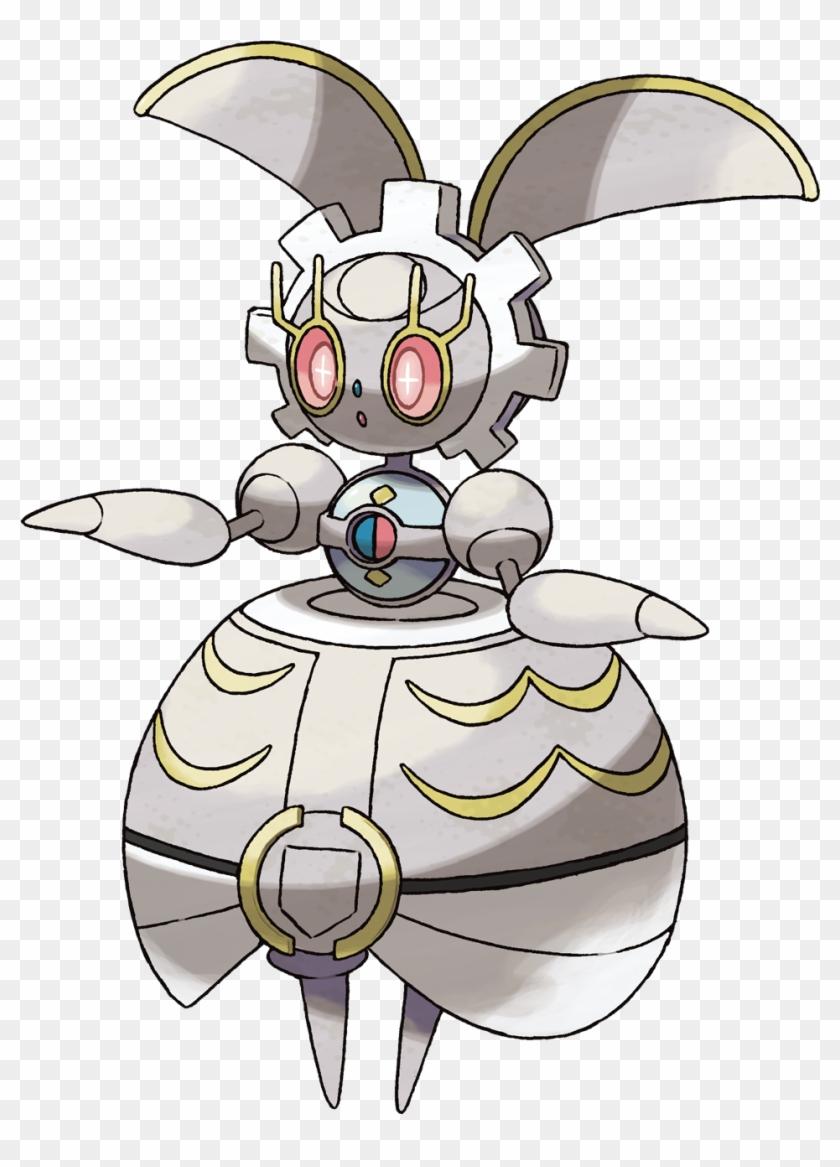 Official Artwork And Concept Art For Pokemon Sun & - Magearna Pokemon #291931