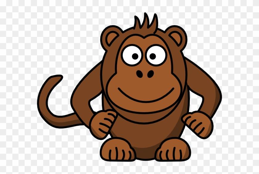 Mono Clip Art - Cartoon Monkey #291950