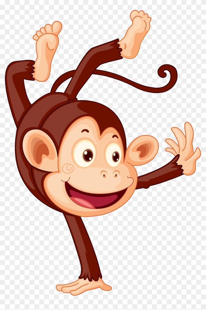 Clipart Images, Monkey Business, Monkeys - Animals Celebrating #291962