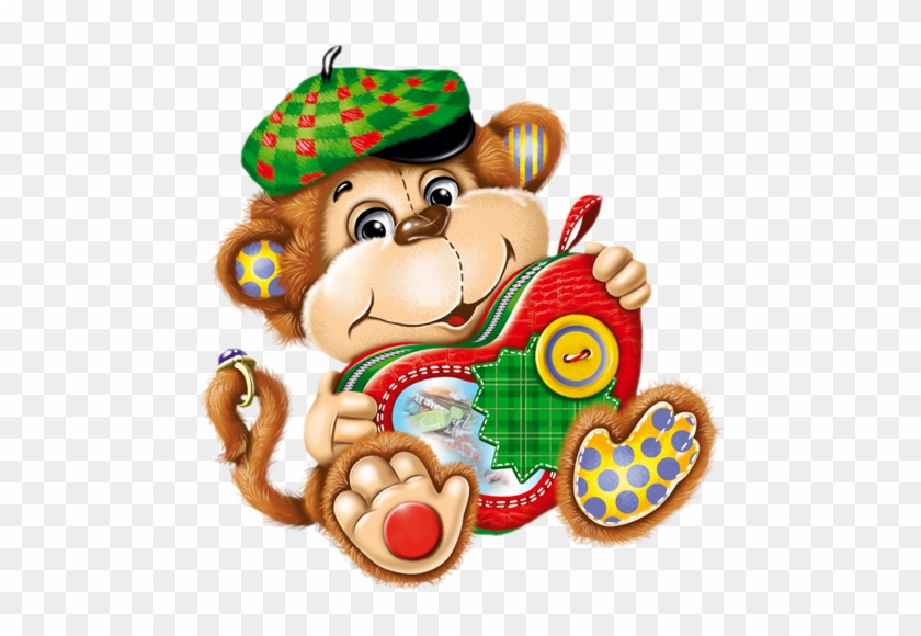 Cartoon Monkeymonkey Artart Workclip - Clip Art #291961