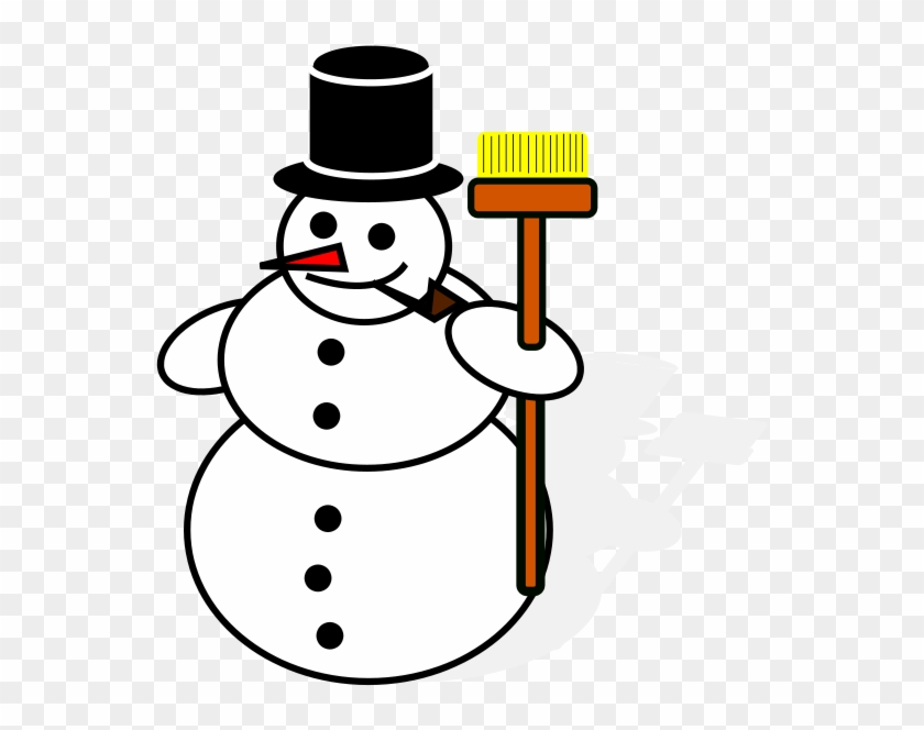 Ugly Christmas Sweater - Snowman Drawing Png #292007