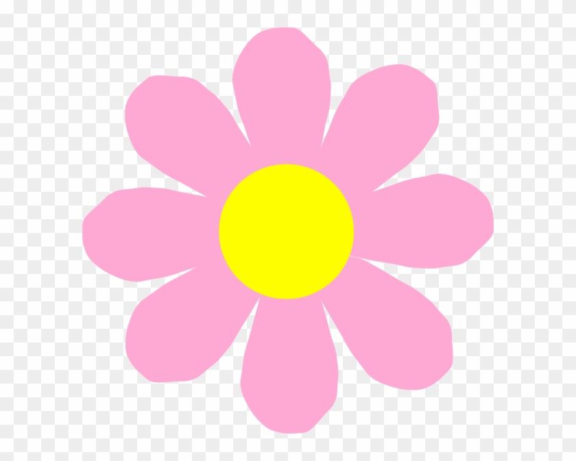 Pink Cartoon Flowers #292037