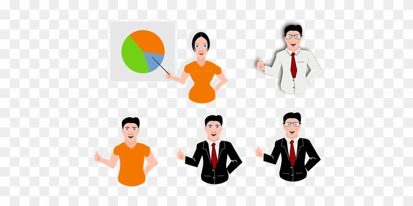 Presentation People Meeting Office Corpora - Presentation Clip Art #292078