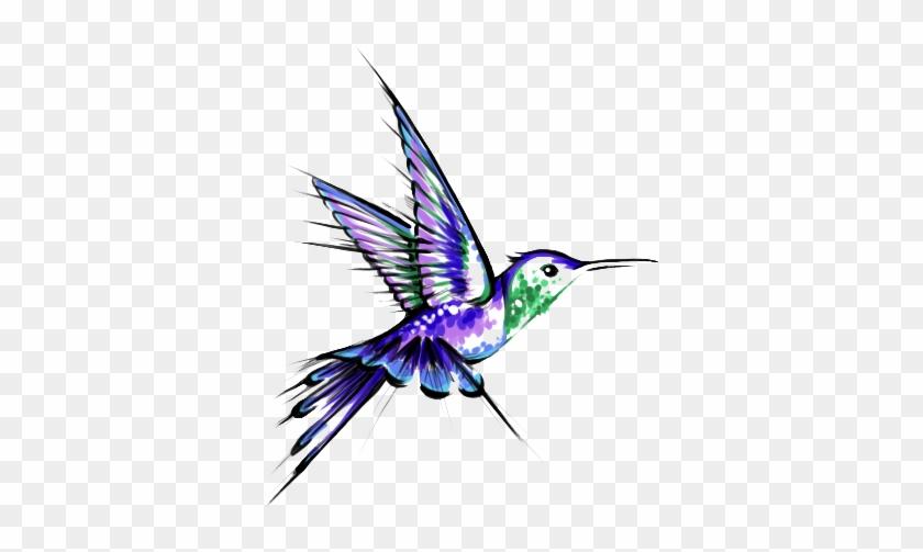 Hummingbird Tattoos Png Transparent Images - Hummingbird Tattoo #292160