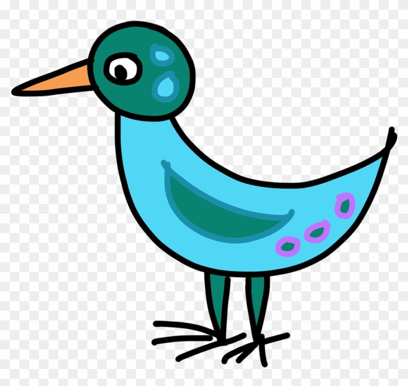 Humming Bird Cartoon 7, Buy Clip Art - Dibujos Animados De Aves #292177