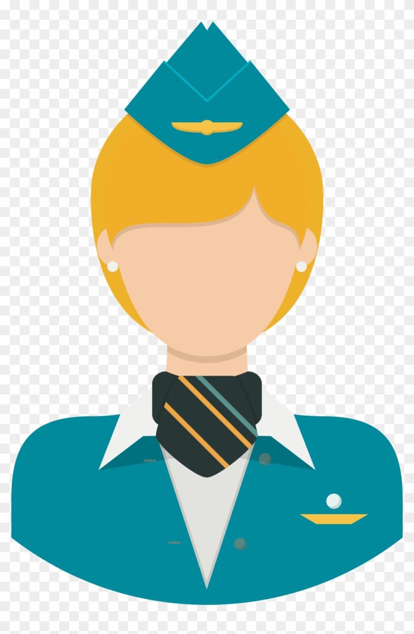 Lead Flight Attendant Training Instructor - Flight Attendant Clipart Png #292239