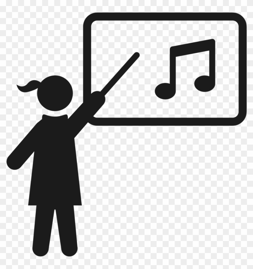 Children And Adult Beginners' Piano Lessons - Music Teacher Png #292272