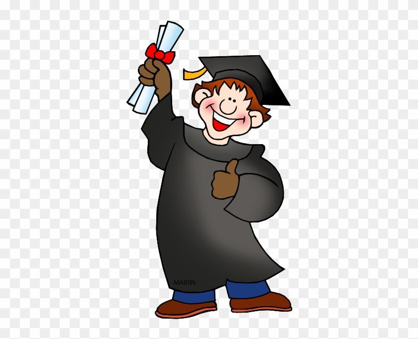 Graduate - High School Graduation Clipart #292287