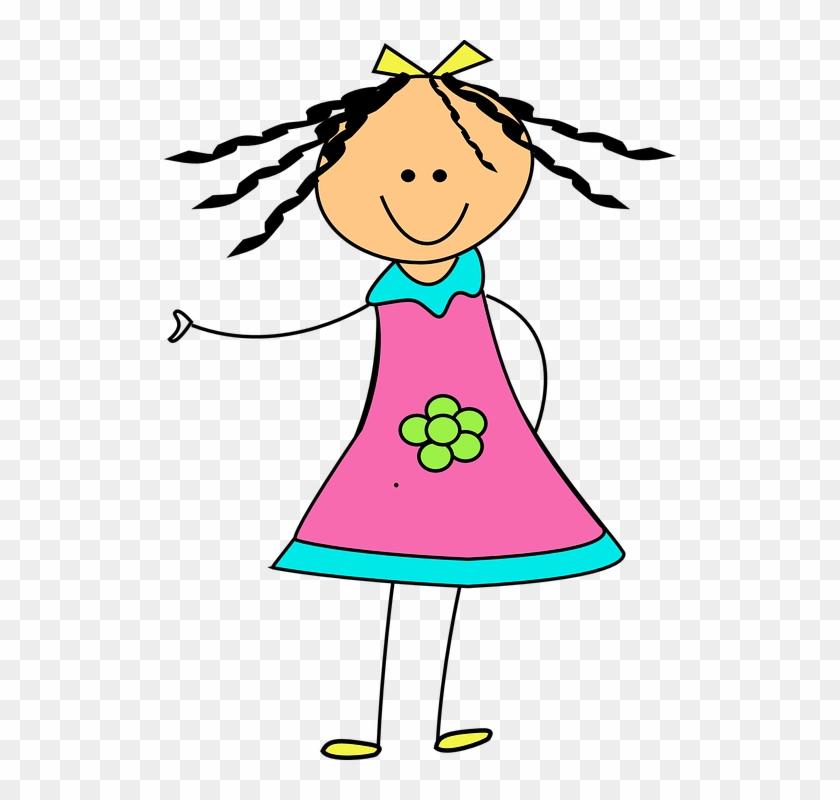 Clip Art - Doll Clipart Cute #292296